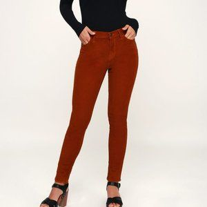 FREE PEOPLE High Rise Corduory Pants